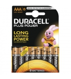 Lot de 8 piles DURACELL - Plus Power - LR03 AAA