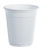 Paquet de 100 gobelets en plastique blanc - 10 cl