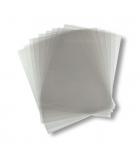 Paquet de 100 plats de couverture A4 30/100e - translucide