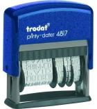 Tampon multiformules TRODAT 4817C - avec spécial secrétariat
