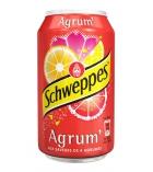Pack de 24 canettes de SCHWEPPES - Agrum Tonic - 33 cl