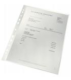 Paquet de 100 pochettes perforées LEITZ 100% recyclées 90µ