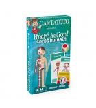 Jeu apprentissage Cartatoto RécréAction : corps humain - dès 7 ans