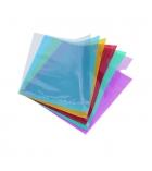 Paquet de 10 pochettes coin lisses polypro