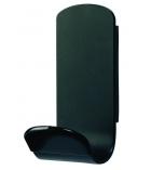 Patère magnétique UNILUX - poids maxi 12 kg - noir