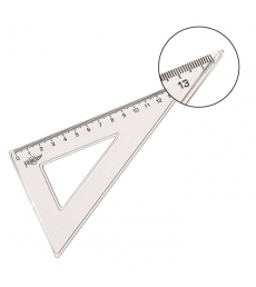 Equerre transparente 45° - 16 cm