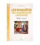 Livre éducatif 100 pages Les enquêtes de l'inspecteur Lafouine volume 1 dès 8 ans