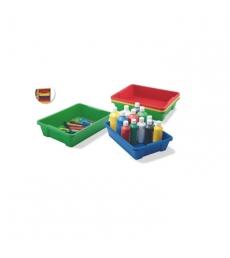Boîte de rangement polypro sans couvercle 42 x 31 x 7,3 cm
