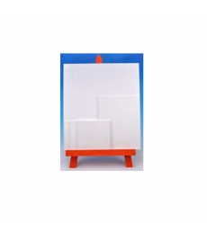 Carton toilé blanc 24 x 30 cm - 3 mm