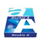 Carton de 5 rames de 500 feuilles de papier DOUBLE A - A3 80g - blanc