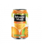 Pack de 24 canettes jus d'orange MINUTE MAID - 33 cl
