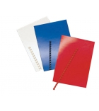 Paquet de 100 plats de couverture - A4 - carton brillant
