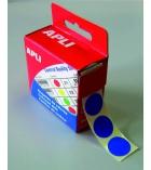 Boîte de 150 étiquettes autocollantes APLI - Ø 15 mm