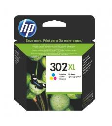 Cartouche d'impression jet d'encre 3 couleurs HP 330 pages - F6U67AE - 302XL