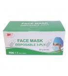 Boite 50 masques 3 plis type IIR