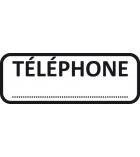"""Tampon - TRODAT- X printy - encrage automatique """"téléphone"""""""