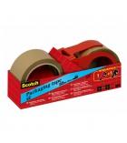 Pack de 2 rouleaux classiques - SCOTCH - 50 mm x 66 m + 1 devidoir
