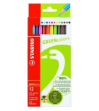 Etui de 12 crayons de couleur - STABILO - Greencolors