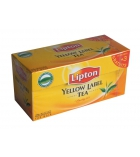 Lot de 25 sachets de thé - LIPTON - Yellow