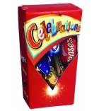 Carton de 12 boîtes chocolat - CELEBRATION - de 72g