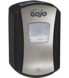 Distributeur automatique de savon - GOJO - 700 ml - chromé/noir