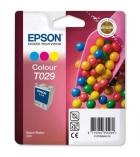 Cartouche d'impression jet d'encre - EPSON - encre 3 couleurs - T029401