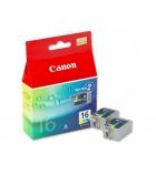 Pack 3 cartouches d'impression jet d'encre 3 couleurs CANON 3 x 200 pages - BCI-16CL
