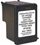 Cartouche d'impression jet d'encre - compatible recyclée pour HP - encre noire - 200 pages - 350