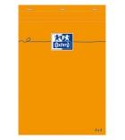 Bloc-notes - OXFORD - agrafé non perforé - 14,8 x 21cm - 5 x 5