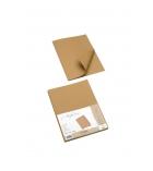 Paquet de 25 sous-chemises kraft - 100% recyclées - 230 g