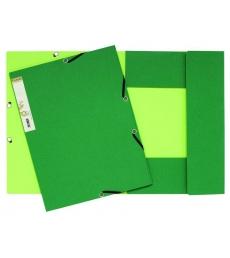 Chemise carte 3 rabats et élastiques - EXACOMPTA - Forever - bicolore