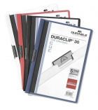 Lot de 5 chemises - DURABLE - Duraclip - 3 mm