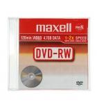 Pack de 5 DVD-RW réinscriptibles - MAXELL - 47 Go
