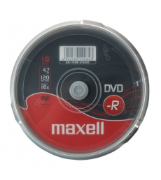 Pack de 10 DVD-R 16x - MAXELL - 4,7 Go