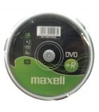 Pack de 10 DVD+R 16x - MAXELL - 4,7 Go