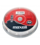 Pack de 10 DVD-RW 16x - MAXELL - 4,7 Go