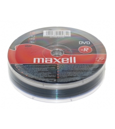 Lot de 10 DVD-R sous film - MAXELL - 4,7 Go