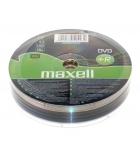 Lot de 10 DVD+R - MAXELL - 4,7 Go