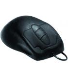 Souris optique USB - silicone étanche - noir