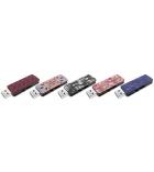 Clé USB 2.0 m700 - EMTEC - fashion prints couture - 8 Go