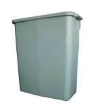 Container tri selectif - DURABLE - Durabin - 60 litres - blanc