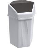 Poubelle plastique - 15 litres
