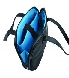 Sac multifonctions - 2 compartiments - noir/bleu