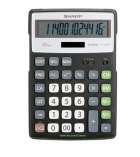 Calculatrice de bureau Eco Green - SHARP - EL-297B - 8 chiffres