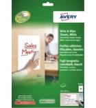 Pochette de 2 feuilles adhésives repositionnables et effaçables à sec - AVERY - 70703 - A2