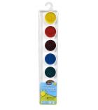 Palette de 7 pastilles de gouache - PEBEO - couleurs assorties