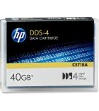 Cartouche data tape DDS4 - HP - 20/40 Go - 150 mètres