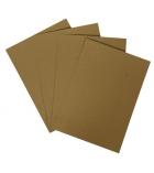 Paquet de 100 plats de couverture 100% recyclés - A4 - 250 g - sable clair