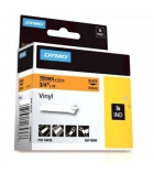 Ruban vinyl DYMO pour Rhino - 19 mm x 5,5 m - noir/or