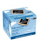 Boîte de 100 craies enrobées - blanc